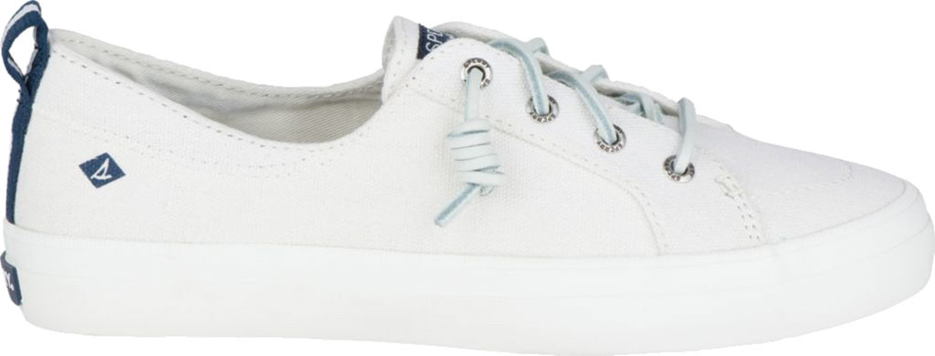 Women's Sperry Top-Sider Crest Vibe Sneaker, White Linen Canvas, large, image 2
