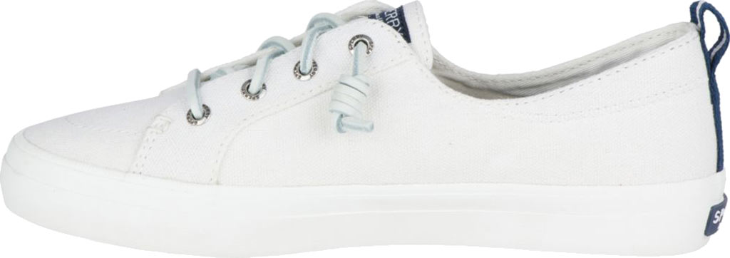 Women's Sperry Top-Sider Crest Vibe Sneaker, White Linen Canvas, large, image 3