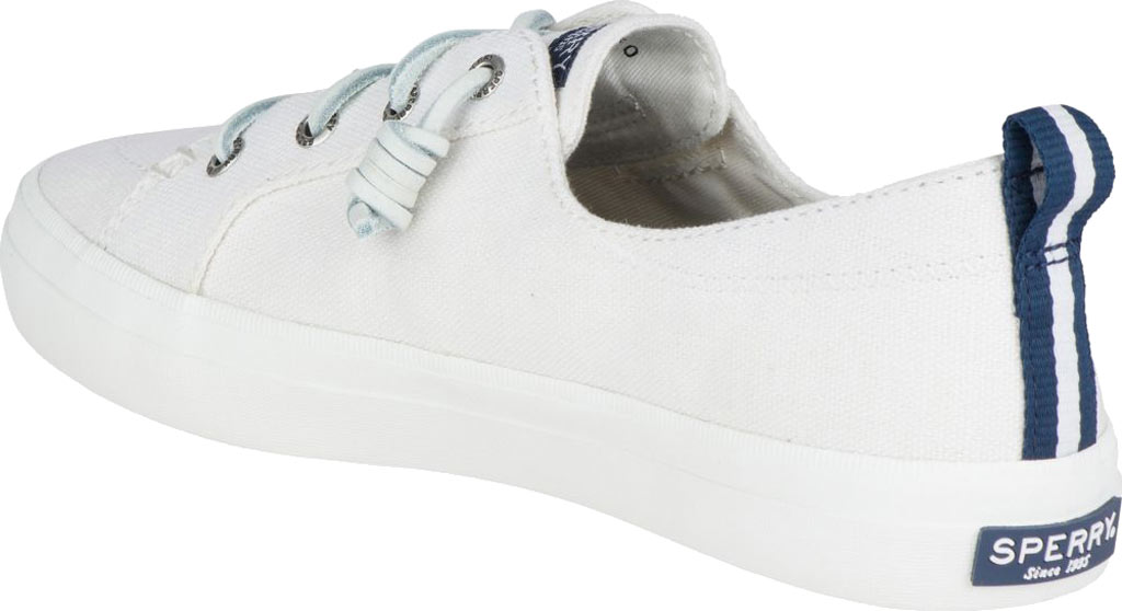 Women's Sperry Top-Sider Crest Vibe Sneaker, White Linen Canvas, large, image 4