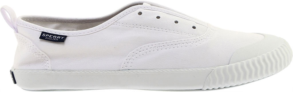 Women's Sperry Top-Sider Sayel Clew Sneaker, White Washed Canvas, large, image 2