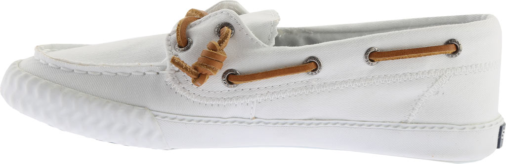 Women's Sperry Top-Sider Sayel Away Boat Shoe, White Washed Canvas, large, image 3