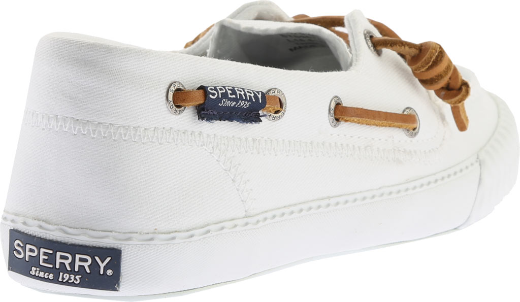 Women's Sperry Top-Sider Sayel Away Boat Shoe, White Washed Canvas, large, image 4