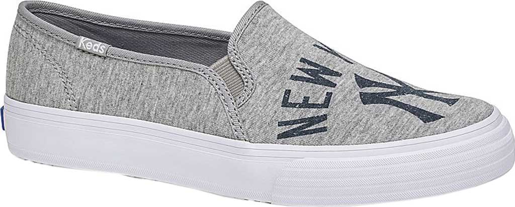 Women's Keds Double Decker MLB Slip-On Sneaker, New York Yankees, large, image 1