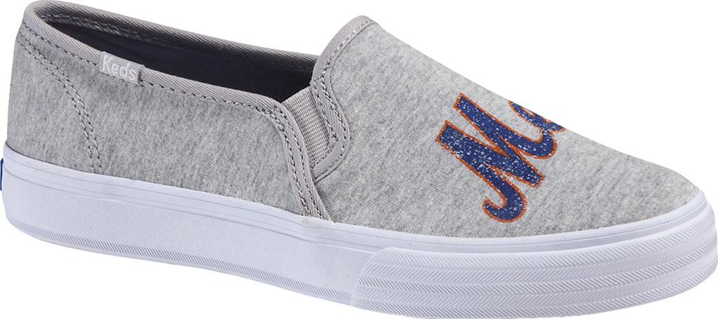 Women's Keds Double Decker MLB Slip-On Sneaker, New York Mets, large, image 1