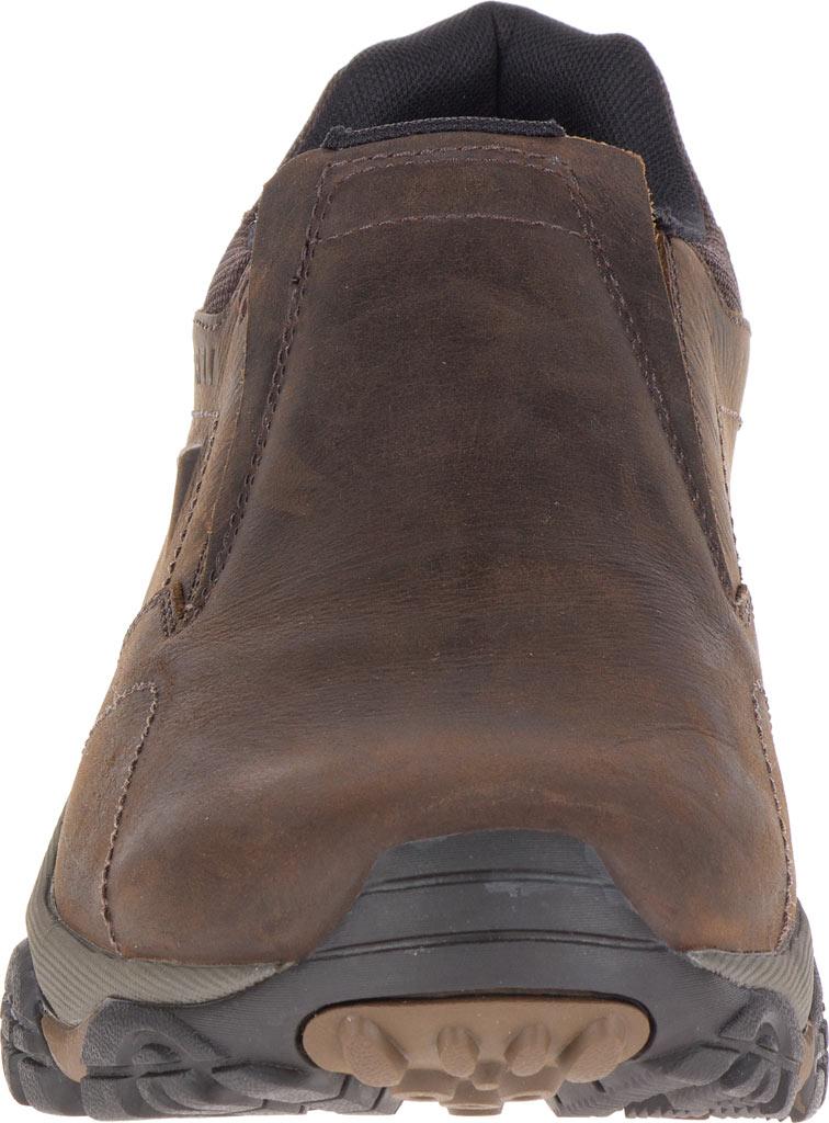 Men's Merrell Moab Adventure Moc Slip-On, Dark Earth Nubuck Leather, large, image 4
