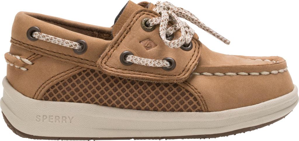 Infant Boys' Sperry Top-Sider Gamefish Jr Boat Shoe, Dark Tan Leather, large, image 2