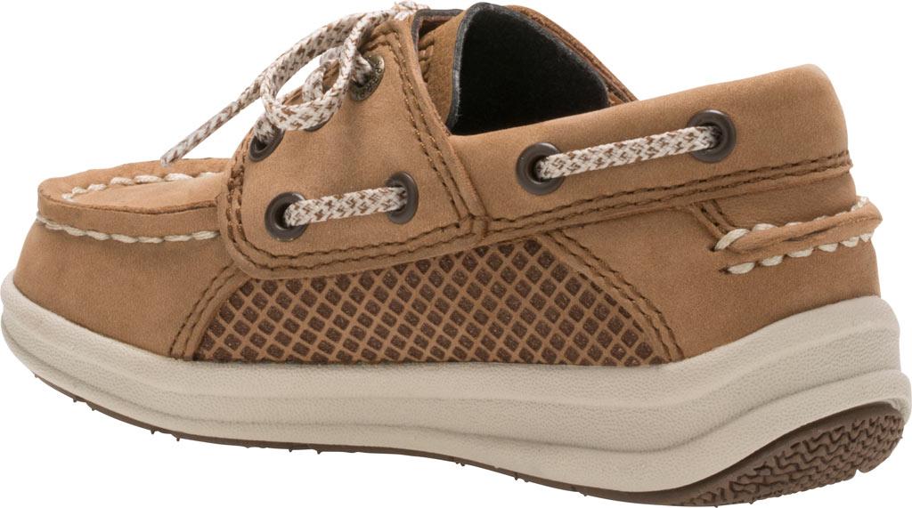 Infant Boys' Sperry Top-Sider Gamefish Jr Boat Shoe, Dark Tan Leather, large, image 3