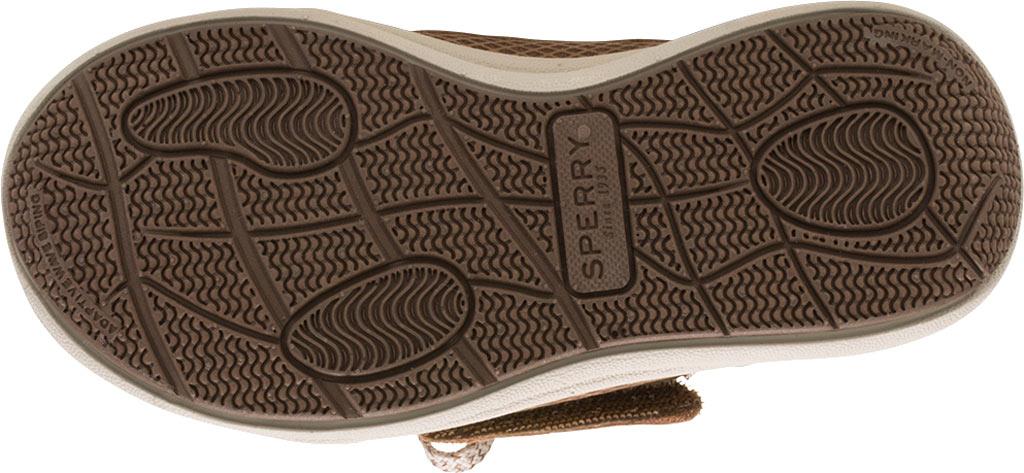Infant Boys' Sperry Top-Sider Gamefish Jr Boat Shoe, Dark Tan Leather, large, image 4