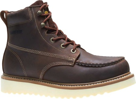 "Men's Wolverine Loader 6"" Wedge Soft-Toe Boot, Brown Leather, large, image 2"