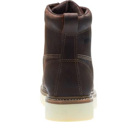 "Men's Wolverine Loader 6"" Wedge Soft-Toe Boot, Brown Leather, large, image 5"