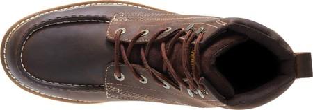 "Men's Wolverine Loader 6"" Wedge Soft-Toe Boot, Brown Leather, large, image 6"