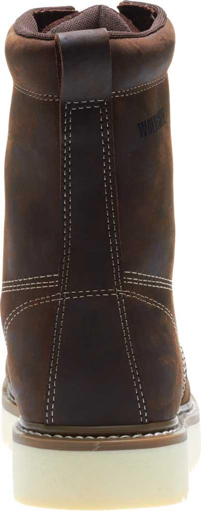 "Men's Wolverine Loader 8"" Wedge Soft-Toe Boot, Brown Leather, large, image 5"