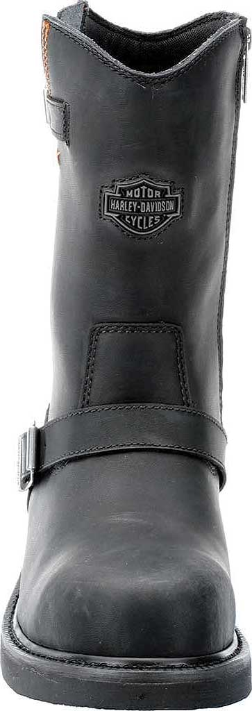 Men's Harley-Davidson Jason Steel Toe Boot, Black Leather, large, image 4