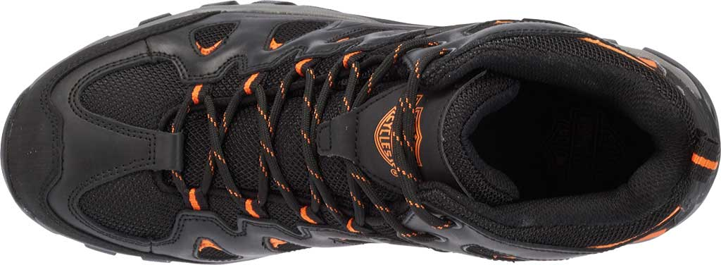 Men's Harley-Davidson Woodridge Waterproof Boot, Black Leather, large, image 6