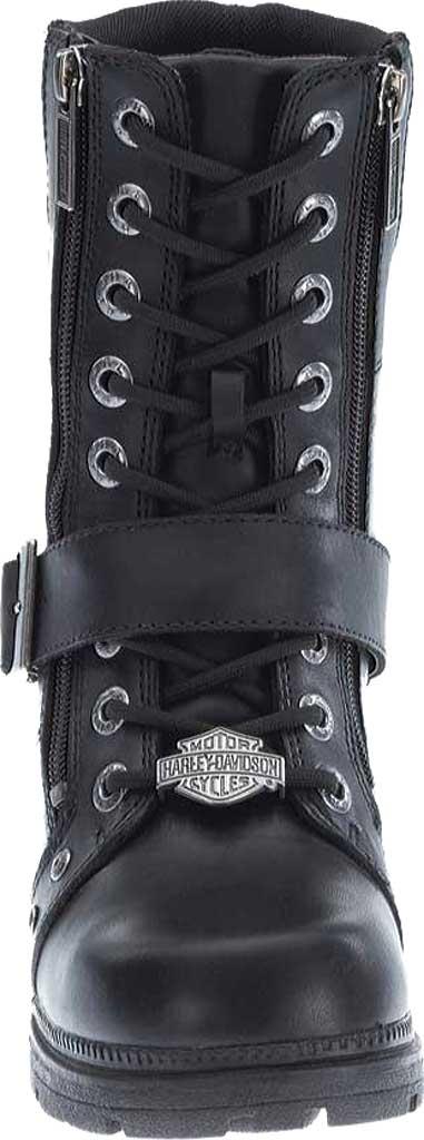 Women's Harley-Davidson Talley Ridge Combat Boot, Black Full Grain Leather, large, image 4