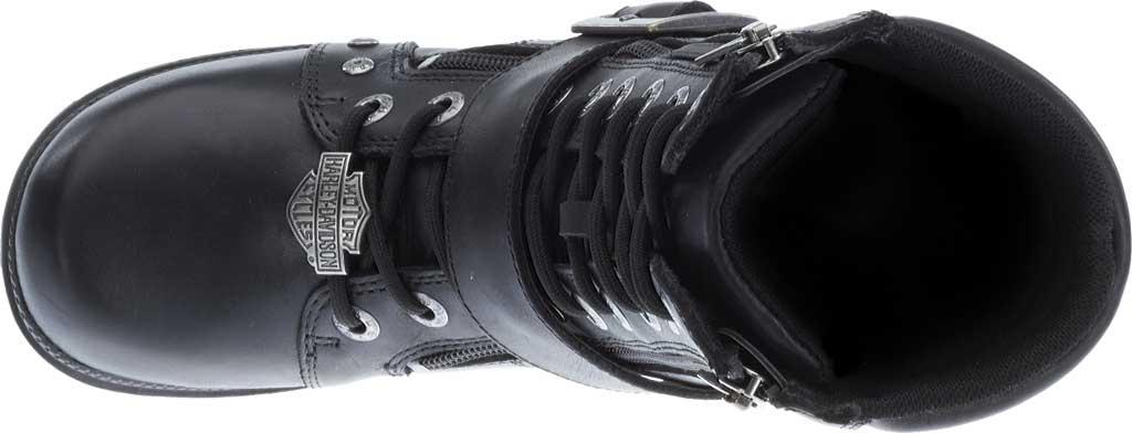 Women's Harley-Davidson Talley Ridge Combat Boot, Black Full Grain Leather, large, image 6