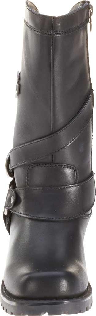 Women's Harley-Davidson Amber Harness Boot, Black Full Grain Leather, large, image 4