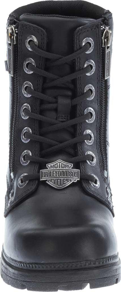 Women's Harley-Davidson Inman Mills Bootie, Black Full Grain Leather, large, image 4