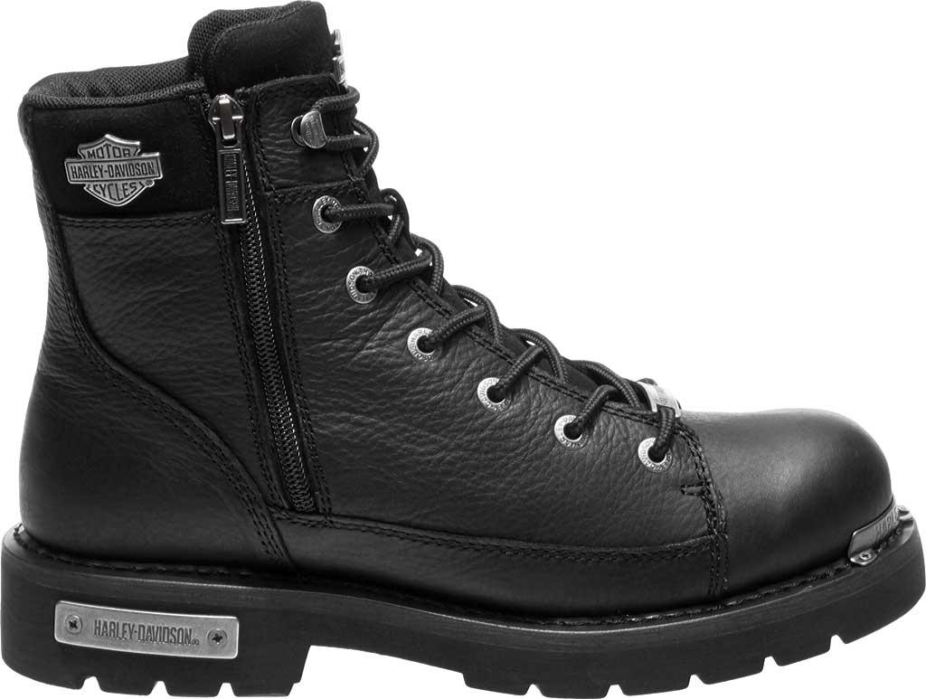 Men's Harley-Davidson Chipman Combat Boot, Black Full Grain Leather, large, image 2
