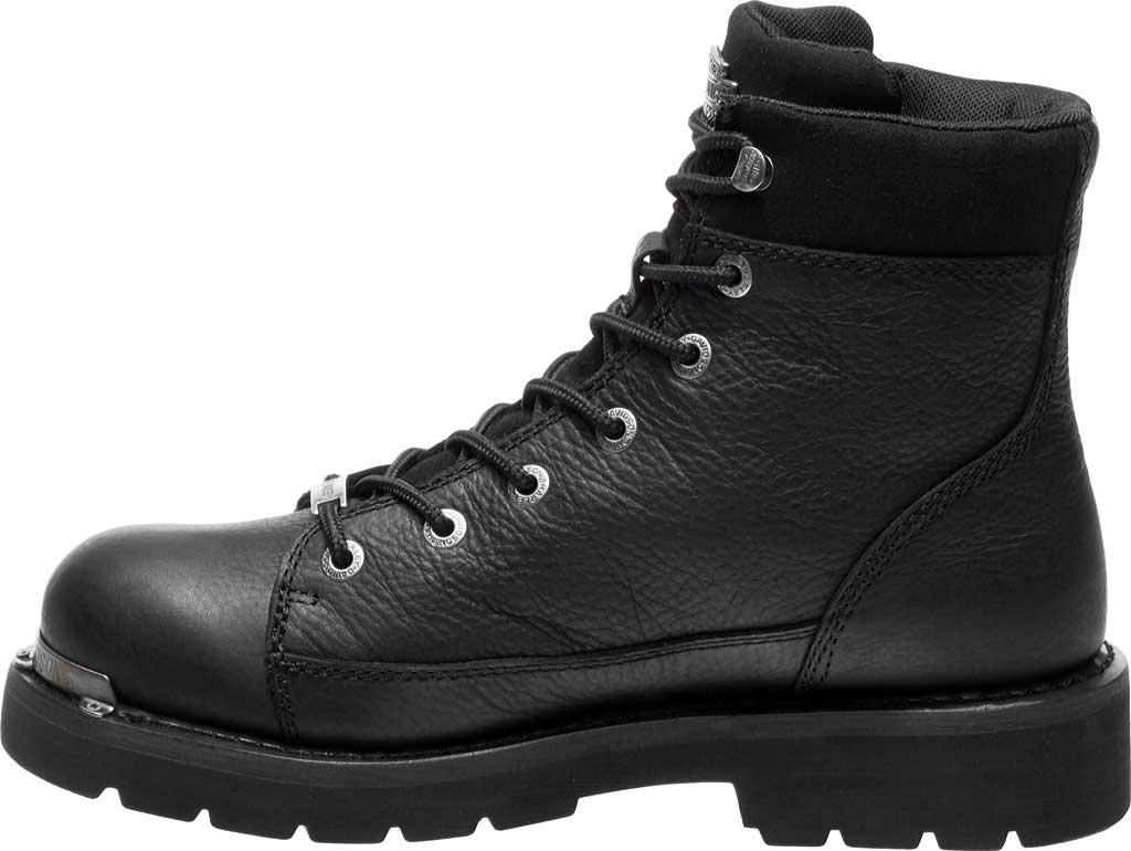Men's Harley-Davidson Chipman Combat Boot, Black Full Grain Leather, large, image 3
