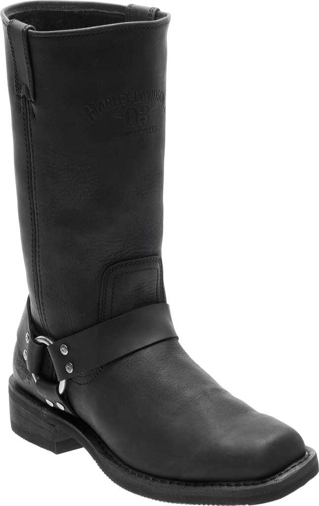 Men's Harley-Davidson Bowden Riding Boot, Black Full Grain Leather, large, image 1