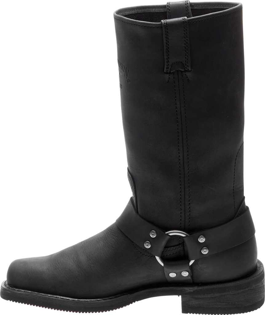 Men's Harley-Davidson Bowden Riding Boot, Black Full Grain Leather, large, image 3