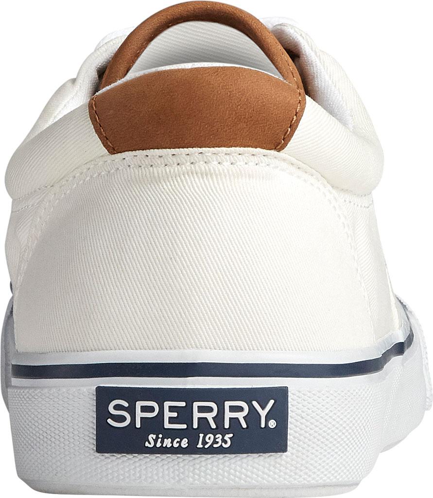 Men's Sperry Top-Sider Striper II CVO Washed Sneaker, Salt Washed White Canvas, large, image 4