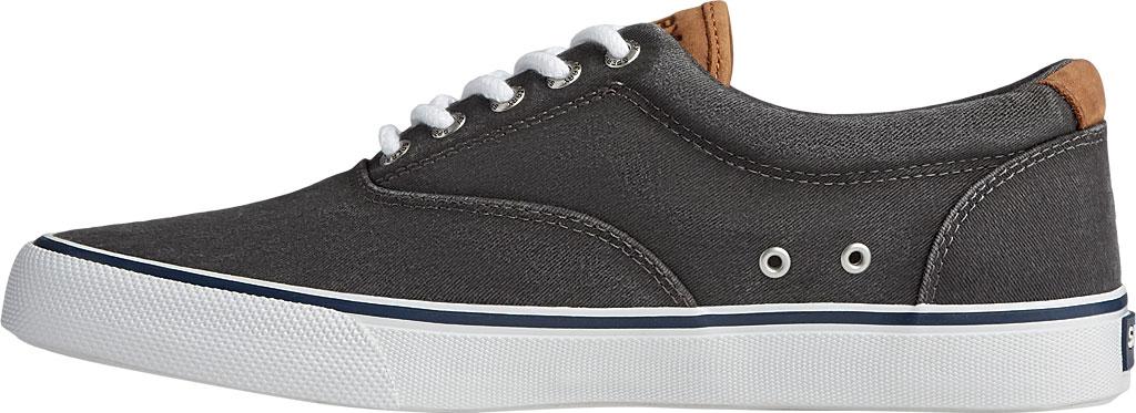 Men's Sperry Top-Sider Striper II CVO Washed Sneaker, Salt Washed Black Canvas, large, image 3
