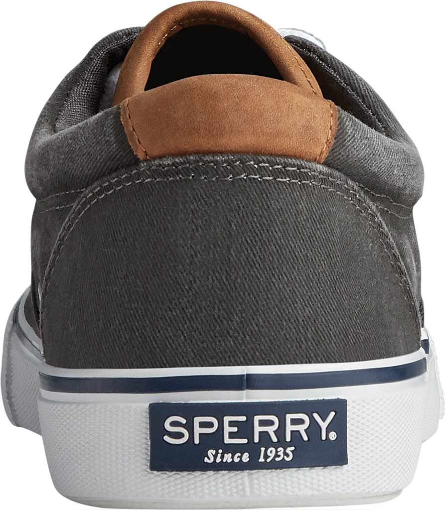 Men's Sperry Top-Sider Striper II CVO Washed Sneaker, Salt Washed Black Canvas, large, image 4