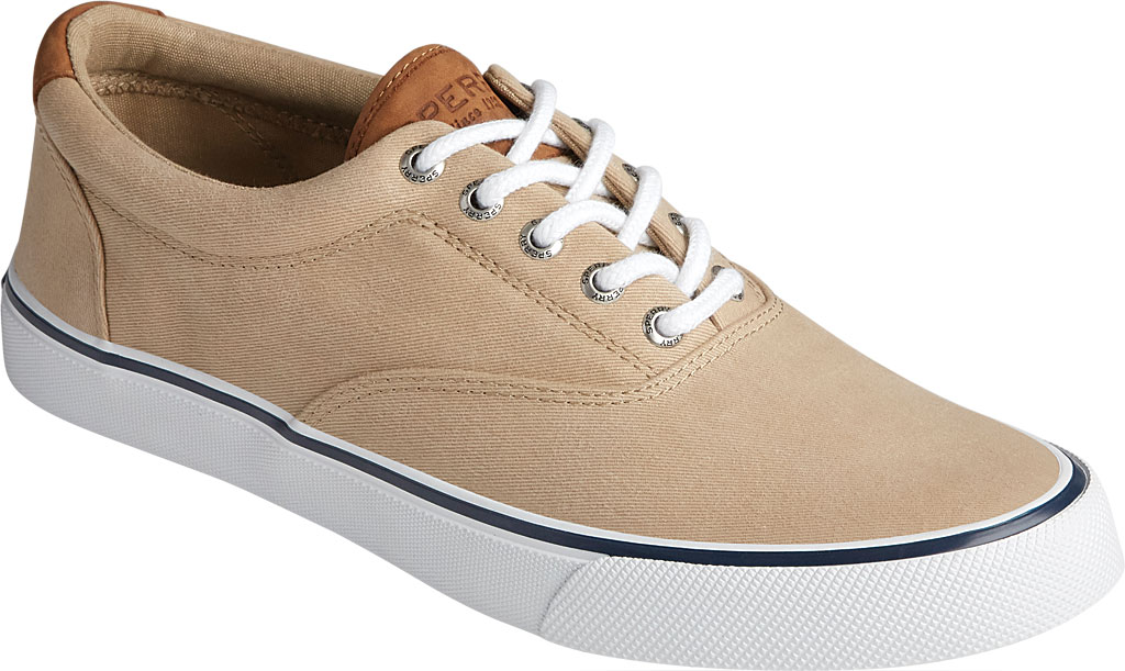 Men's Sperry Top-Sider Striper II CVO Washed Sneaker, Salt Washed Chino Canvas, large, image 1