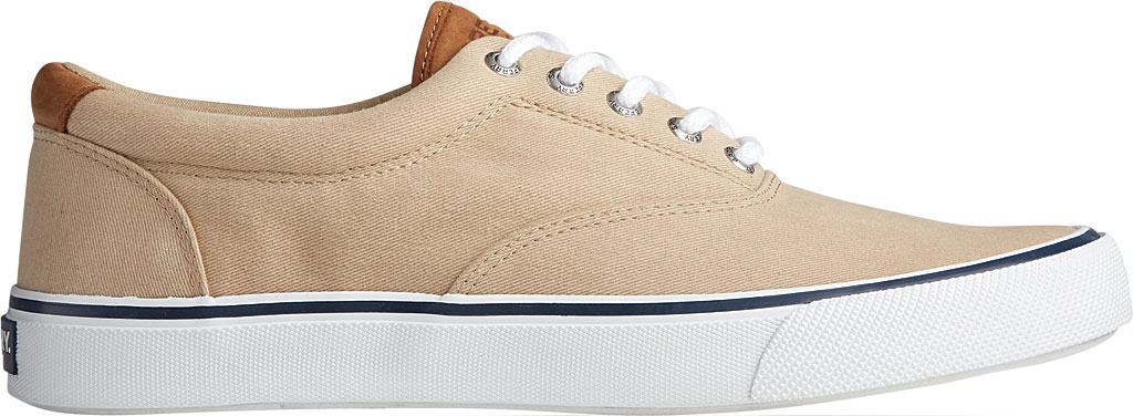 Men's Sperry Top-Sider Striper II CVO Washed Sneaker, Salt Washed Chino Canvas, large, image 2