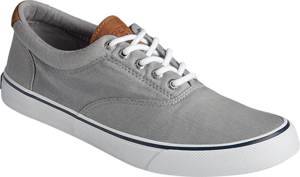 Men's Sperry Top-Sider Striper II CVO Washed Sneaker, Salt Washed Grey Canvas, large, image 1
