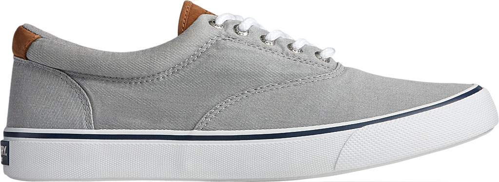 Men's Sperry Top-Sider Striper II CVO Washed Sneaker, Salt Washed Grey Canvas, large, image 2