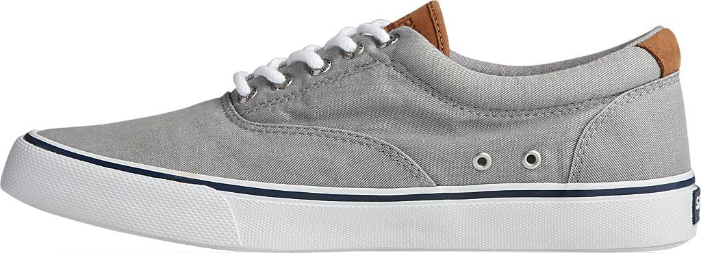 Men's Sperry Top-Sider Striper II CVO Washed Sneaker, Salt Washed Grey Canvas, large, image 3