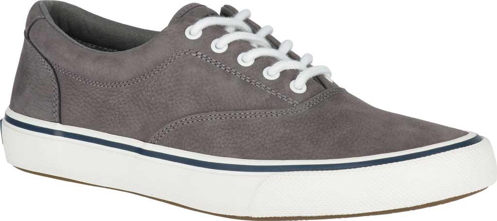 Men's Sperry Top-Sider Striper II LTT Sneaker, Grey CVO Washable Nubuck, large, image 1