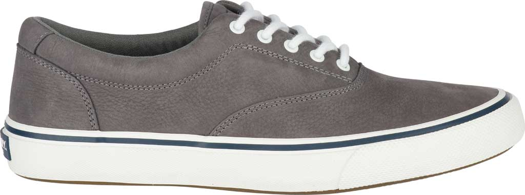 Men's Sperry Top-Sider Striper II LTT Sneaker, Grey CVO Washable Nubuck, large, image 2