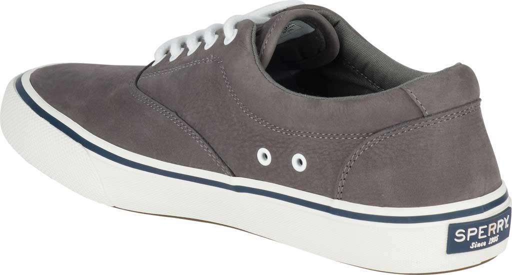 Men's Sperry Top-Sider Striper II LTT Sneaker, Grey CVO Washable Nubuck, large, image 4