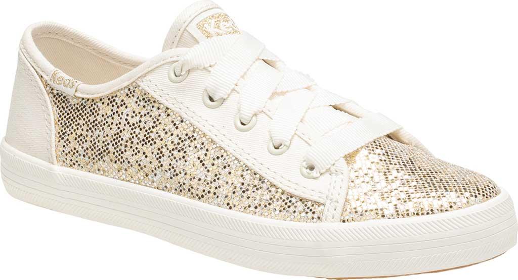 Girls' Keds Kickstart Seasonal Sneaker, Sparkle Textile, large, image 1