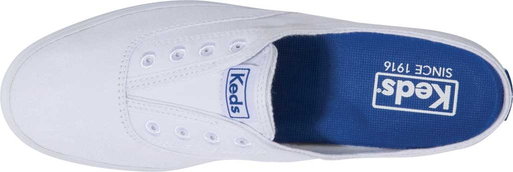 Women's Keds Moxie Mule Backless Sneaker, White Washed Twill, large, image 4
