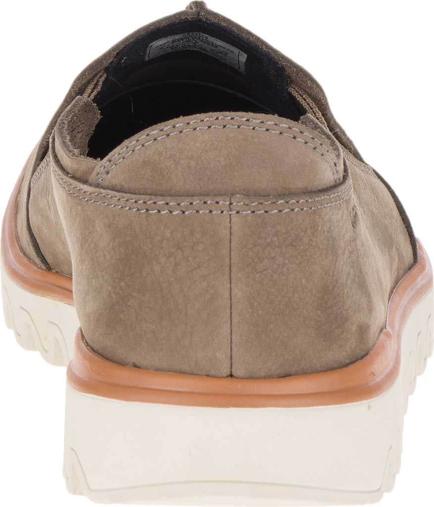 Men's Merrell Downtown Moccasin, Olive Full Grain Leather, large, image 5