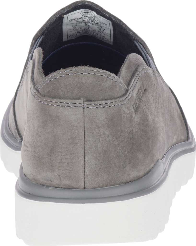 Men's Merrell Downtown Moccasin, Charcoal Full Grain Leather, large, image 4