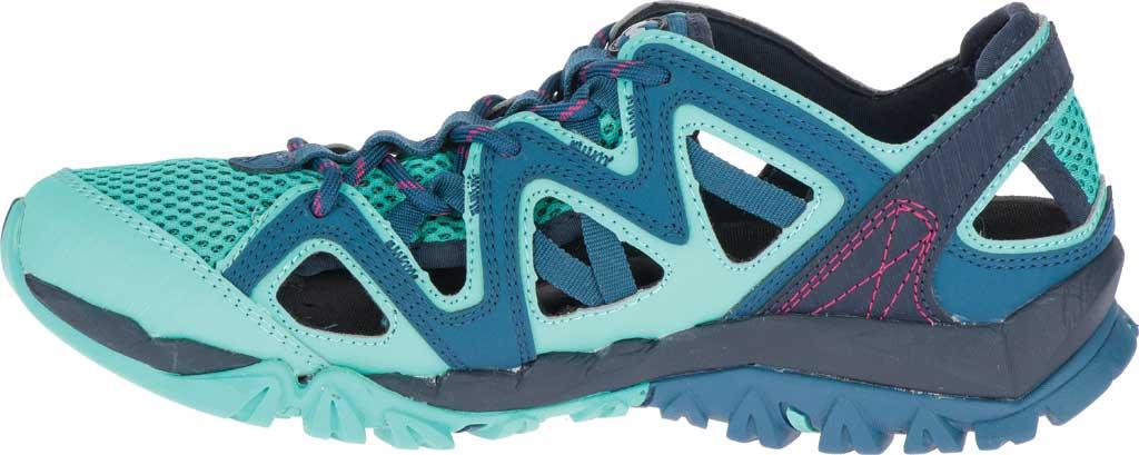 Women's Merrell Tetrex Crest Wrap Water Shoe, Legion Blue Synthetic/Textile, large, image 3