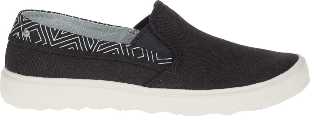 Women's Merrell Around Town City Moc Canvas Sneaker, Black Canvas, large, image 2
