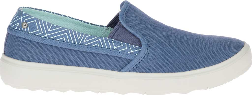 Women's Merrell Around Town City Moc Canvas Sneaker, Bering Sea Canvas, large, image 2