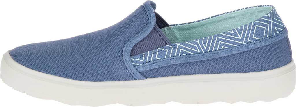 Women's Merrell Around Town City Moc Canvas Sneaker, Bering Sea Canvas, large, image 3