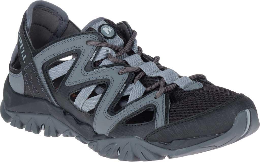Men's Merrell Tetrex Crest Wrap Water Shoe, Black Synthetic/Textile, large, image 1