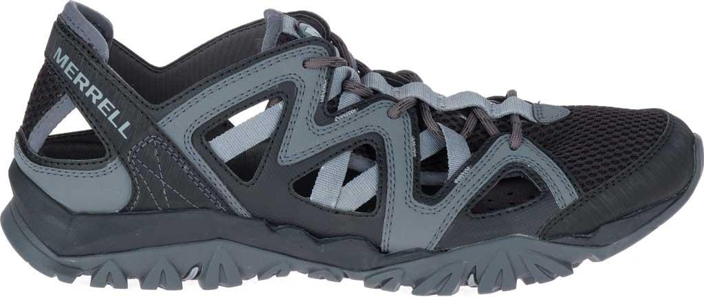 Men's Merrell Tetrex Crest Wrap Water Shoe, Black Synthetic/Textile, large, image 2