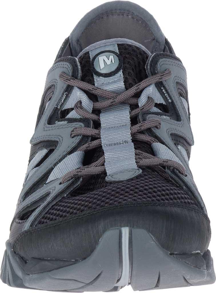 Men's Merrell Tetrex Crest Wrap Water Shoe, Black Synthetic/Textile, large, image 4