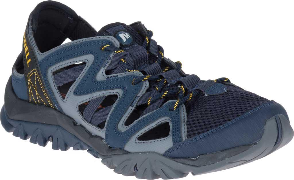 Men's Merrell Tetrex Crest Wrap Water Shoe, Navy Synthetic/Textile, large, image 1