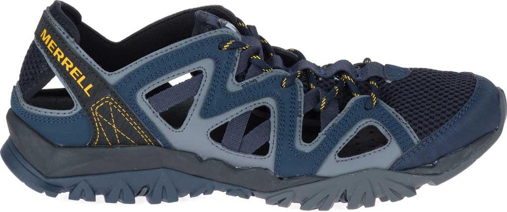 Men's Merrell Tetrex Crest Wrap Water Shoe, Navy Synthetic/Textile, large, image 2